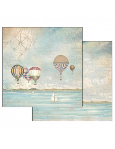 Foglio Double Face - Sea Land mongolfiere SBB543
