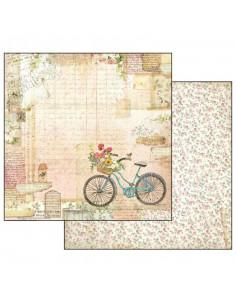 Foglio Double Face - Garden bicicletta SBB555