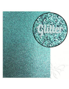 "Foglio fommy glitter ""LIGHT BLUE"" 21x30cm 1,6mm"