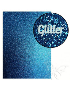 "Foglio fommy glitter ""DARK BLUE"" 21x30cm 1,6mm"