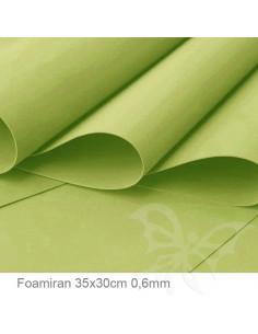 Foamiran 0,6mm 35x30cm - Verde Pistacchio