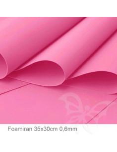 Foamiran 0,6mm 35x30cm - Fucsia