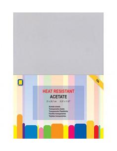 Set 10 fogli Acetato Trasparente A4 0,1mm