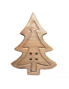 Bottone Abete legno 29cm