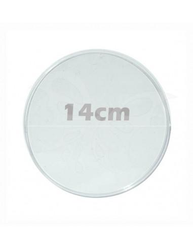Disco plexiglass cm.14