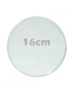Disco plexiglass cm.16