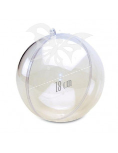 Sfera plexiglass cm.18