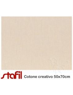 Tessuto Cotone Tortora 50x70cm