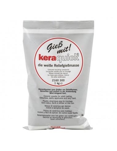 Keraquick rapida per stampi 1kg bianco