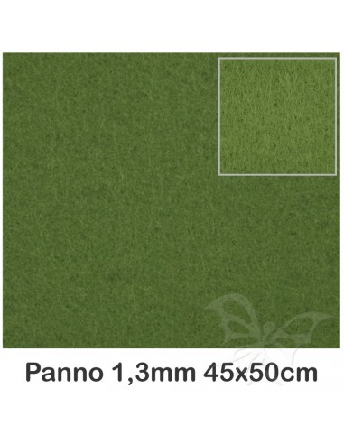 Pannolenci 1,3mm 45x50cm Verde Muschio