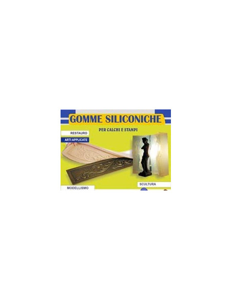 Gomma siliconica 500gr