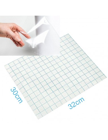 Application tape trasparente 32x30cm