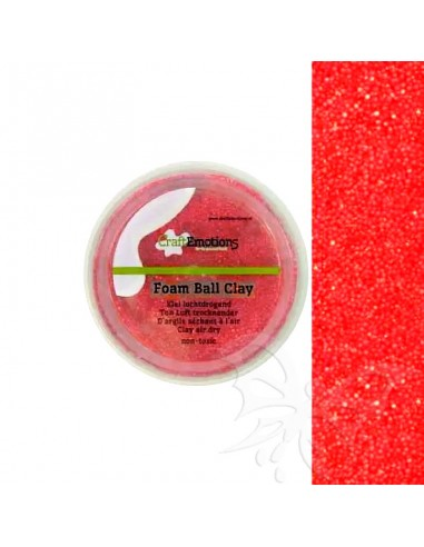 Foam Ball Clay - Rosso