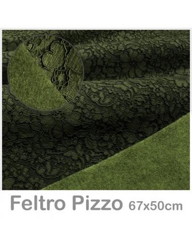 Feltro Pizzo 50x67cm VERDE EDERA