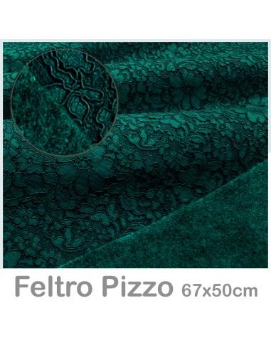 Feltro Pizzo 50x67cm Ottanio