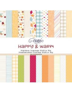 Happy & Warm - paper pad
