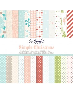 Simple Christmas - paper pad