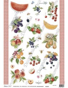 Carta riso Frutta