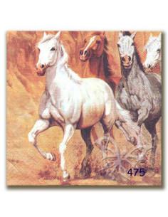 Tovagliolo cavalli