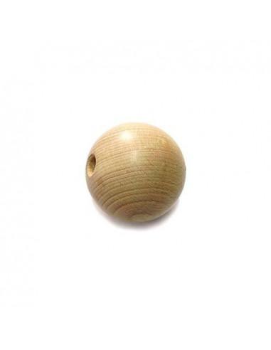 set 12 Palline in legno ø20mm forate