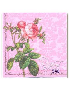 Tovagliolo ramo rose