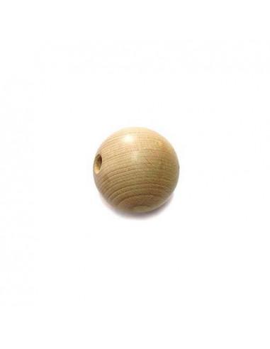 set 12 Palline in legno ø15mm forate