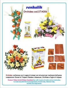 Stampo per fommy Orchidea sta006