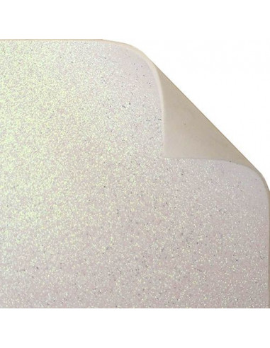 "Foglio fommy glitter ""Bianco"" 40x60cm"