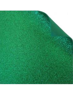 "Foglio fommy glitter ""Verde Natale"" 40x60cm"