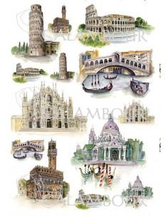 Carta riso città italiane