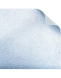 """Foglio fommy glitter """"Argento"""" 40x60cm"""