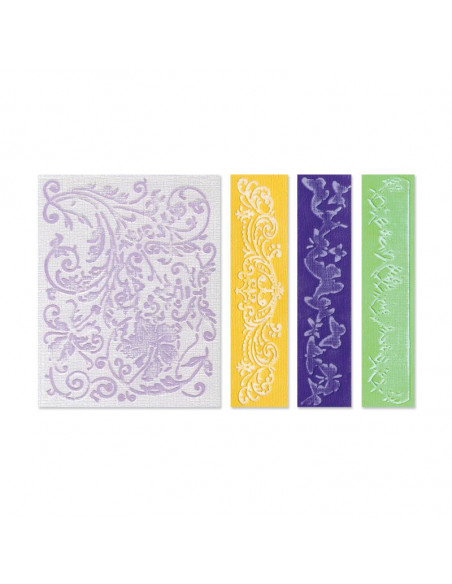 Sizzix Embossing Springtime & Borders Set