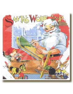 Babbo Natale a lavoro