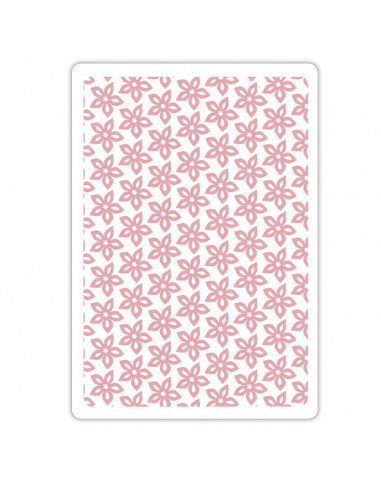 Sizzix Textured Impressions Embossing Folder - Floral Texture