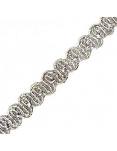 Passamaneria Lurex Silver 10mm