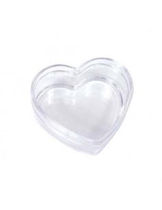 Scatolina Cuore plexiglass cm.6,5x3