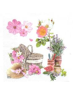 Tovagliolo giardinaggio e picnic