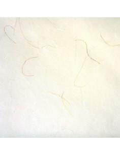 Carta di riso Avorio lamé oro
