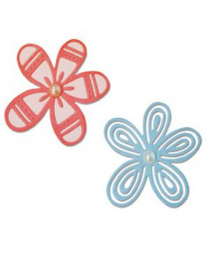 Sizzix Thinlits Die Set 2PK - Bountiful Botany