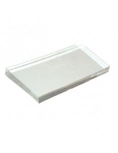 Base timbri in acrilico cm. 5x15x1