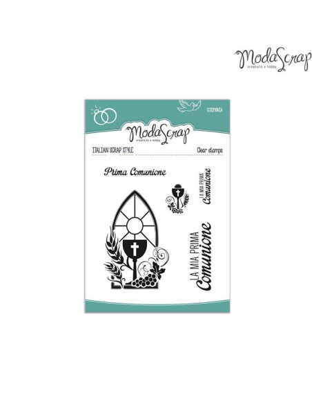 ModaScrap Clear Stamps MSTC 2-004 - Cerimonia n.4