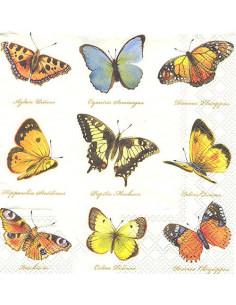 Tovagliolo farfalle