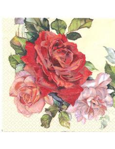 Tovagliolo rose