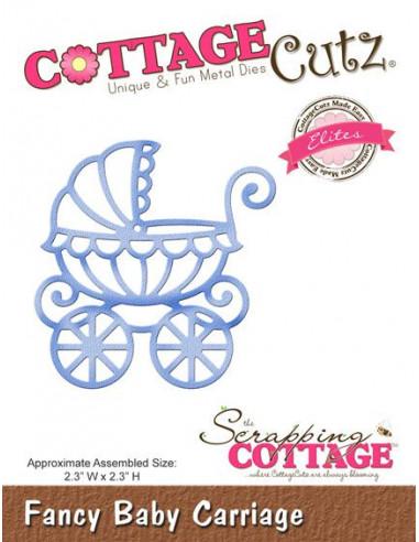 CottageCutz Fancy Baby Carriage (Elites)