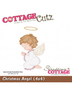 CottageCutz Christmas Angel (4x4)