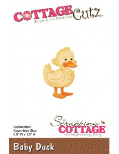 CottageCutz Baby Duck