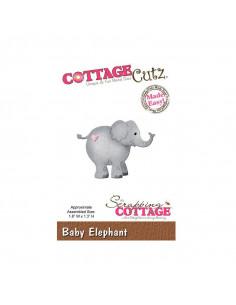 CottageCutz Baby Elephant