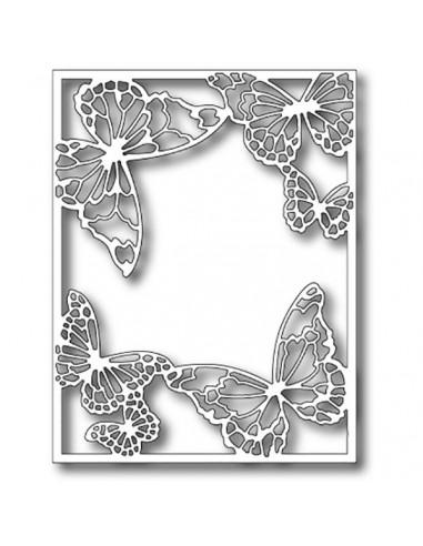 Fustella Memory Box Drifting Butterfly Frame