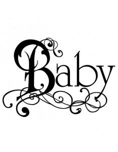 Timbro acrilico cm. 5x7 Baby