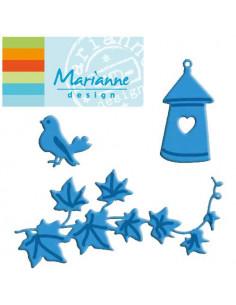 Fustella Marianne Design Creatables Birdhouse